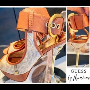 Guess by Marciano platform Sandals.